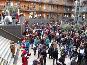 Intocht Sint Nicolaas Delfgauw    22-11-2014 028