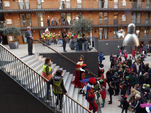 Intocht Sint Nicolaas Delfgauw    22-11-2014 034