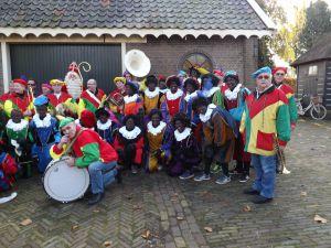 Intocht Sint Nicolaas Delfgauw    22-11-2014 048