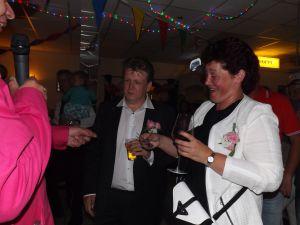 Seranade 25jarig Huwelijk Delft  27-06-2015 019